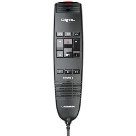 grundig gdd8200 digta sonicmic 3 classic usb dictation microphone