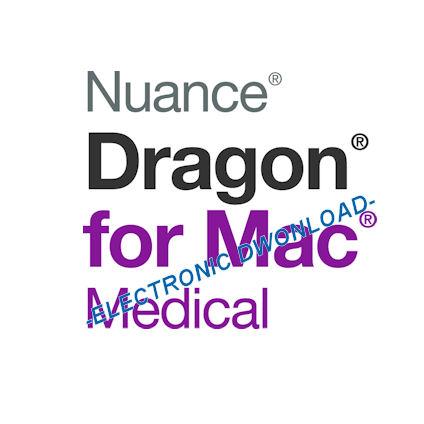 Nuance 368546 Dragon for Mac Medical Version 5 - 1 License