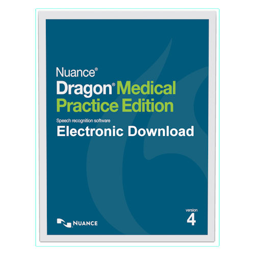 Nuance Dragon Medical Practice Edition 4 Electronic Download Only