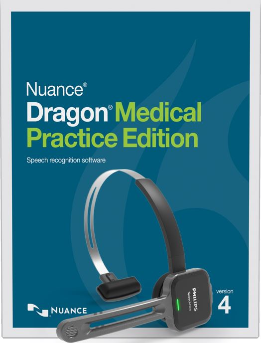 23ace3c633f Dragon Medical Practice Edition 4 with Phillips SpeechOne Wireless Headset